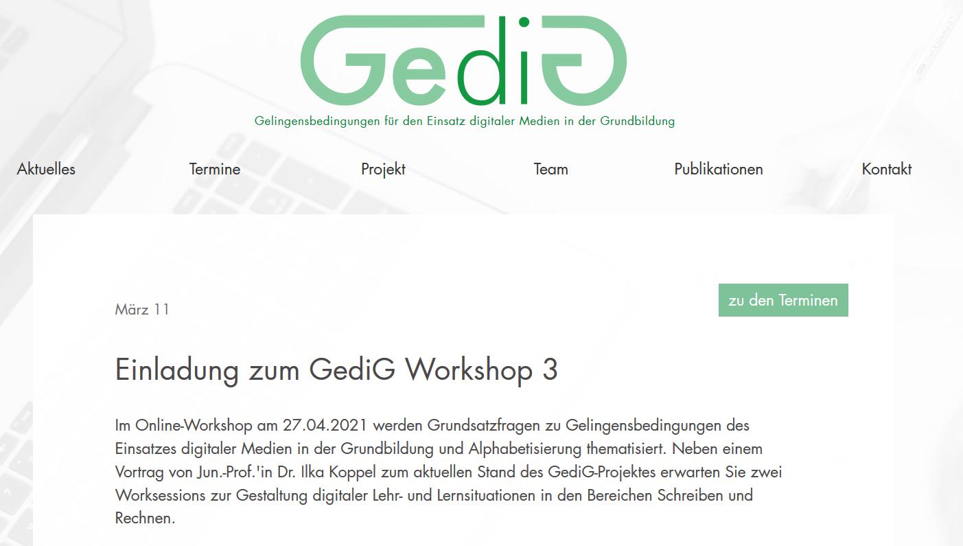 Workshop zum Einsatz digitaler Medien in der Grundbildung und Alphabetisierung
