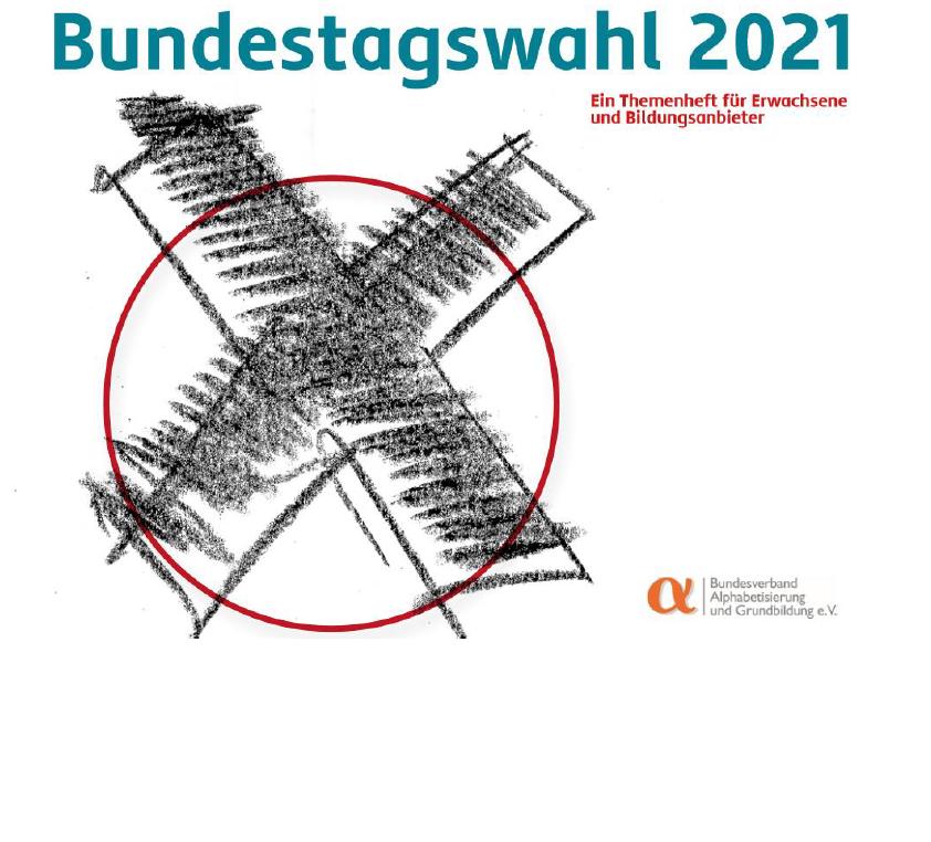 BVAG: Themenheft zur Bundestagswahl 2021 in Einfacher Sprache